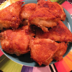 Tater-dipped Oven Fried Chicken