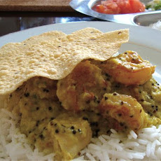 Chicken & Shrimp Curry With Coconut & Green Chilies