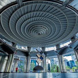 Interior by Steve Badger - Buildings & Architecture Architectural Detail ( malaysia, architecture, circle, kuala lumpur, city,  )