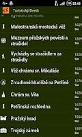 Screenshot of Turistický deník