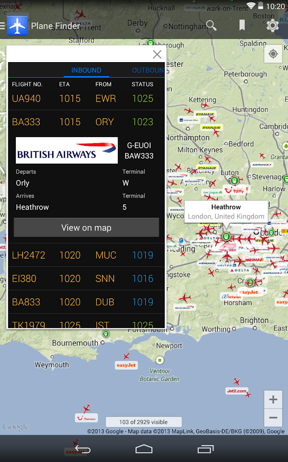 Plane Finder - Flight Tracker Screenshot 18