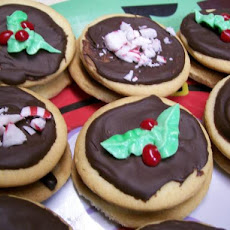 Giada's Peppermint-Chocolate Sandwich Cookies