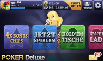 Screenshot of Deutsch Texas Poker Deluxe