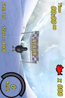 Screenshot of Penguin Skiing 3D