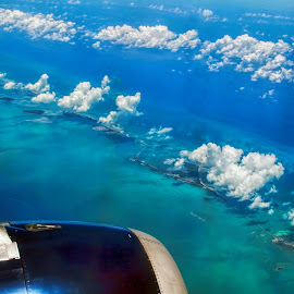 Florida Keys by Raymond Pauly - Landscapes Travel ( atlantic ocean, florida, airplane, florida keys, islands, landscape, aerial view, caribbean )