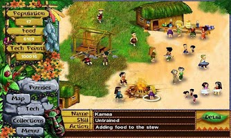 Screenshot of Virtual Villagers 2