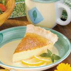 Silky Lemon Pie