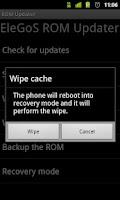 Screenshot of ROM Updater