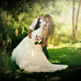 by Trisha Lookabill - Wedding Bride & Groom