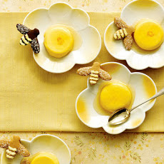 Honey-Saffron Panna Cottas