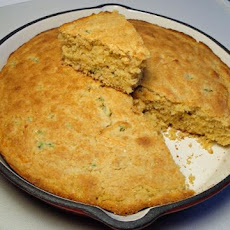 Cornbread With Jalapeno and Cheddar Cheese