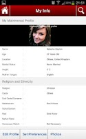 Screenshot of Matrimonial App