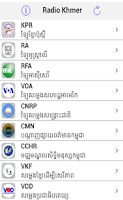 Screenshot of Radio Khmer