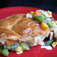 Quickie Chicken Biscuit Pot Pie