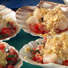 Scallops on the Half Shell