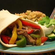 Fajitas with Venison