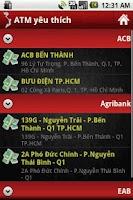 Screenshot of VietATM Pro