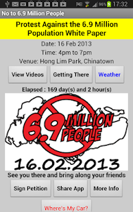 Population White Paper Protest - screenshot