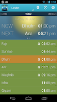 Screenshot of iPray: Prayer Times & Qibla