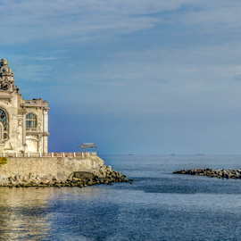 Constanta's Casino by Nedelciu Alexandru - Buildings & Architecture Other Exteriors ( casino, seascape, seaside, old building, decaying )