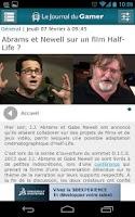 Screenshot of Journal du Gamer (Officiel)