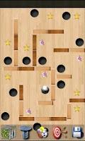 Screenshot of magnetic maze