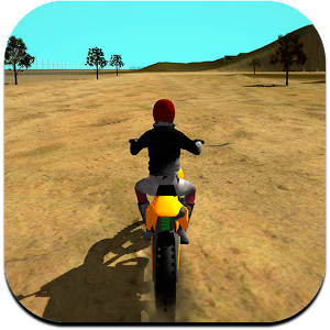 Become the # 1 of motocross with this motorbike free simulator. Feel the speed. APK Icon