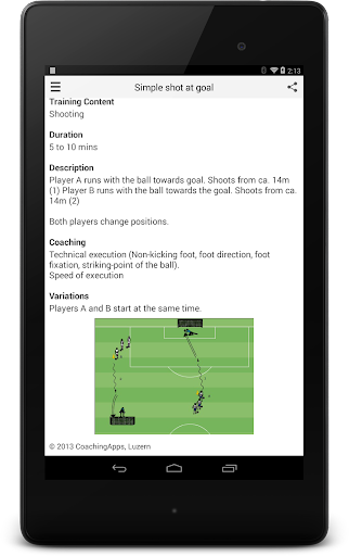 Soccer Training - screenshot