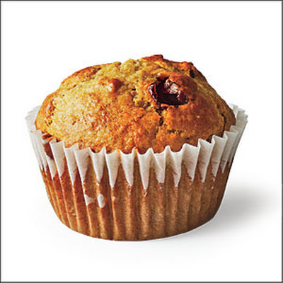 Cherry-Wheat Germ Muffins