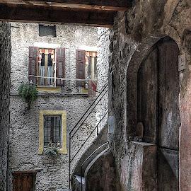 Isolabona, Italy by Roberta Sala - City,  Street & Park  Street Scenes ( hdr, street, italy )