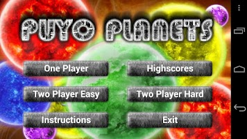 Screenshot of Puyo Planets