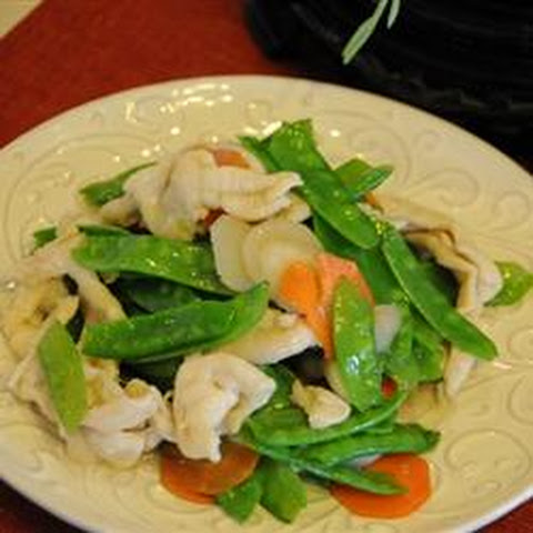 Chicken and Snow Peas