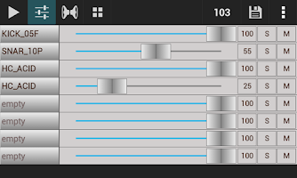 Screenshot of GrooveMixer Pro – Beat Studio