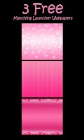 Screenshot of ♥Sweet Heart Theme Go SMS ♥