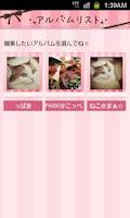 Screenshot of LiveDeco:Kawaii Photo Album LW