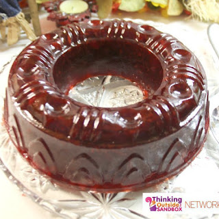 Raspberry Jello Salad With Cranberry Sauce Recipes
