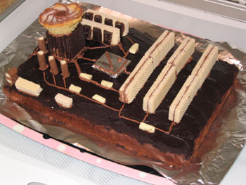 Gâteau de geek