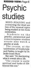 Psychic studies