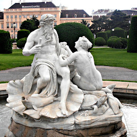 Viennese Fountain Statue by Tamsin Carlisle - City,  Street & Park  Historic Districts (  )