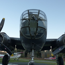 Grumpy the b-25 by Brent James - Transportation Airplanes ( history, wwii, airplane, transportation, antiques,  )