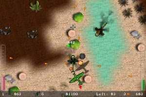 Screenshot of Blue Skies Lite