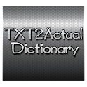 Texting Dictionary | Txting icon