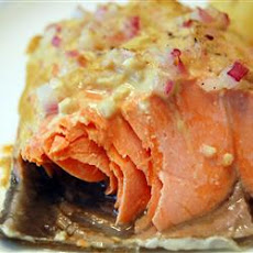 Dijon Garlic Salmon