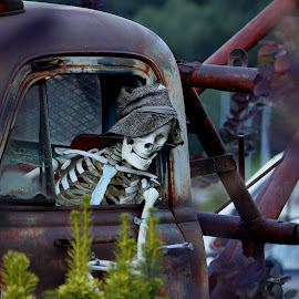 He is back from out of town. Fifteen day's on the road make's a man a wreck .Glad to be back boy's and Girls. The pictures are coming, when i find the time to place them....!!!!!!!!!!!!!!!!!!! by Dominiek Ceurstemont - Transportation Automobiles