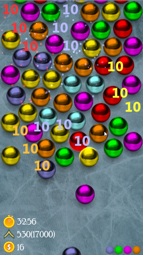 Magnetic balls s - screenshot