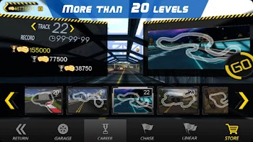 Screenshot of Crazy Racer 3D