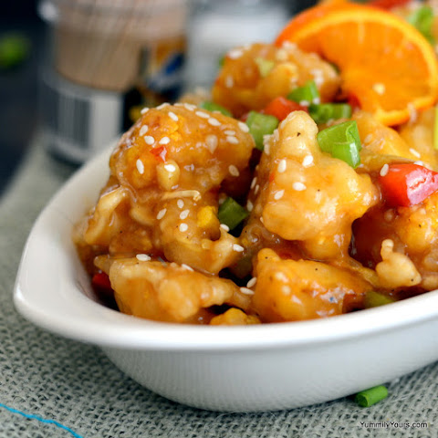 ORANGE CAULIFLOWER – A VEGETARIAN'S ORANGE CHICKEN