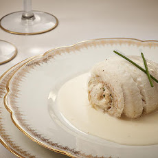 Crab-Stuffed Sole Paupiettes with Sauce Vin Blanc  Recipe