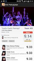 Screenshot of JKT48 Theater