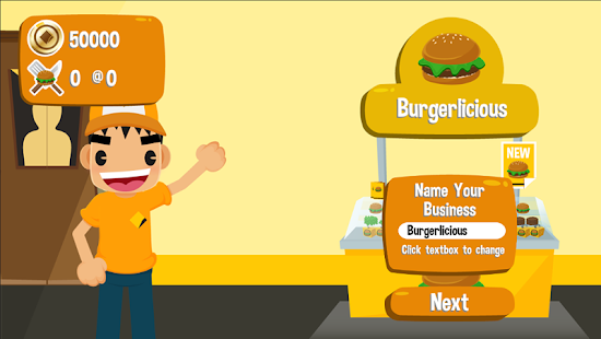 Burger Biz - screenshot